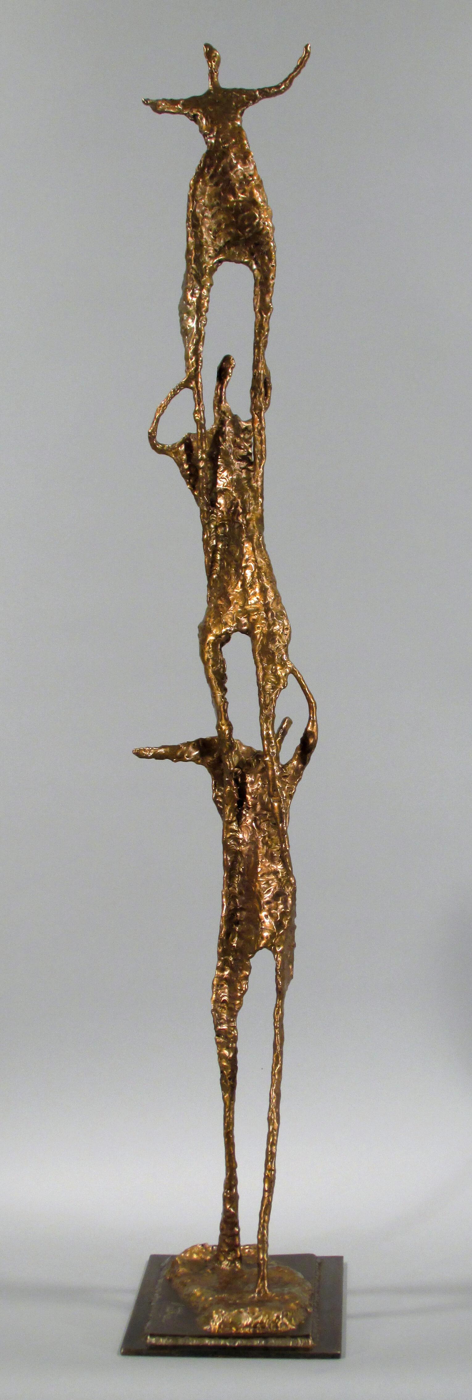 Sculpture de bronze par Matthieu Binette